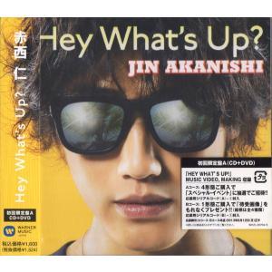 赤西仁 [ CD+DVD ] HEY WHAT'S UP?(初回限定盤A)新品 wetnodsedog