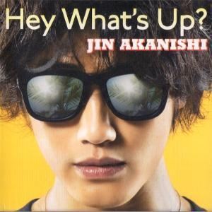 赤西仁 [ CD+DVD ] HEY WHAT'S UP?(初回限定盤A)(中古ランクA) wetnodsedog