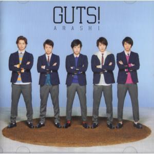 [嵐] CD+DVD 「GUTS!」初回限定盤  ディスク:1 1. GUTS! 2. Fly 3....