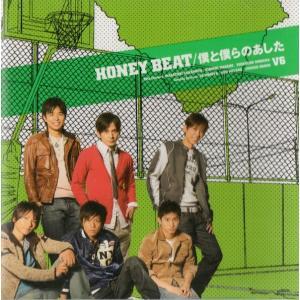 V6 [ CD ] HONEY BEAT / 僕と僕らのあした(通常盤)(中古ランクA)|wetnodsedog