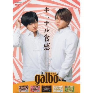 中島健人 菊池風磨「galbo(ガルボ)」非売品 クリアファイル 1 [ 公式グッズ ](中古ランクA)|wetnodsedog