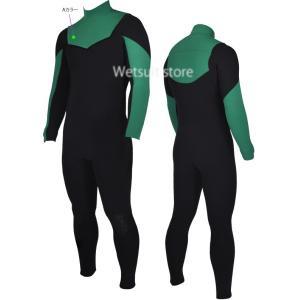 SOLID WATER フルスーツ all3mm両面ジャージ素材 NON-ZIP ウェットスーツ |wetsuitsstore