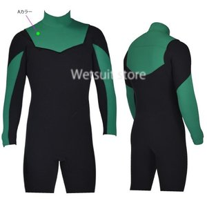 SOLID WATER ロンスプ 3mm2mm両面ジャージ素材 NON-ZIP ウェットスーツ |wetsuitsstore