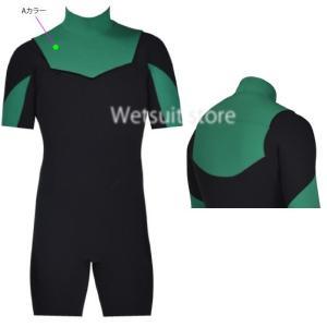SOLID WATER スプリング 3mm2mm両面ジャージ素材 NON-ZIP ウェットスーツ |wetsuitsstore