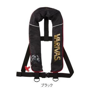 (在庫処分)モーリス VARIVAS ライフジャケット ベストタイプ VAL-14 ブラック ボンベ製造2019年1月につき|wf-ichida