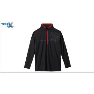 (限定特価)サンライン TERAX COOL DRYシャツ SUW−5570CW(長袖) ブラック サイズM|wf-ichida