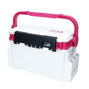(限定特価)ダイワ タックルボックス TB-4000 ホワイト×ピンク