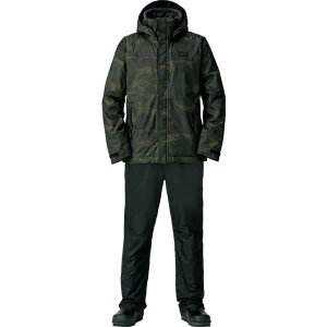 (在庫処分)ダイワ 防寒着  レインマックス ウインタースーツ DW-35008 グリーンカモ サイ...