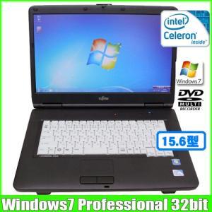 富士通 Fujitsu LIFEBOOK A540/C [celeron 925 (2.3Ghz)/3G/160GB/DVDマルチ/15.6型ワイド/Win7 Pro 32bit無線]   :ランクC 中古 ノートパソコン Office|whatfun