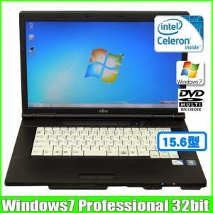 富士通 Fujitsu LIFEBOOK-A561/D [celeron B800 (1.5Ghz)hz/3G/250GB/DVDマルチ/15.6型/ Win7 Pro 32bit 無線]  :ランクA 中古 ノートパソコン Office|whatfun