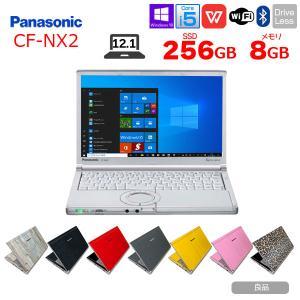Panasonic CF-NX2 中古 ノートパソコン Office Win10 Home 64bit カメラ 指紋認証  [core i5 3320M 2.6Ghz 8G SSD128G 無線 外付マルチ  12.1型 ] :良品|whatfun