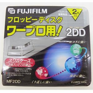 フロッピーディスク FUJIFILM 2DD 2枚   ワープロ