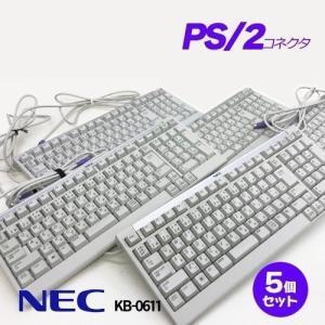 NEC 純正 キーボード PS/2 テンキー 小型キーボード 5個セット :中古 whatfun