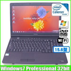 東芝 TOSHIBA dynabook Satellite L35 220C/HD [celeron 900 (2.2Ghz)/3G/160GB/DVDマルチ/テンキー/15.6型/Win7 32bit無線]  :ランクB 中古 ノートOffice|whatfun