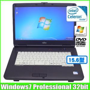 富士通 Fujitsu LIFEBOOK A540/A [celeron 900 (2.2Ghz)/3G/160GB/DVDマルチ/15.6型ワイド/ Win7 Pro 32bit 無線]  :ランクA 中古 ノートパソコン Office|whatfun