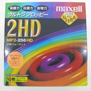 フロッピーディスク MAXELL 2HD 10枚   ワープロ