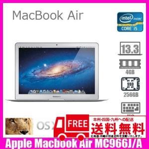 Apple Macbook Air MC966J/A [core i5  1.7Ghz 4G SSD256GB 無線 Bluetooth 13.3インチ OS:10.7.5  USキー] :ランクB 中古 ノートパソコン|whatfun