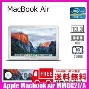 Apple Macbook Air  MMGG2J/A [core i5 1.6Ghz 8G SSD 256GB 無線 Bluetooth 13.3インチ OS:10.11] :ランクA 中古 ノートパソコン|whatfun