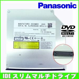 Panasonic UJ841 8x DVD±RW DL ノート用 IDE マルチドライブ whatfun