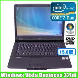 NEC VersaPro VY22AF-6 [core 2 Duo P8400 (2.26Ghz)/2G/80GB/DVDマルチ15.6型ワイド/WindowsVISTA 無線]  :美品 中古 ノートパソコン Office|whatfun