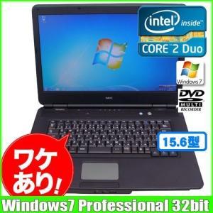 NEC VersaPro VY25A/A-A [core 2 Duo P8700 2.53GHz/2G/160GB/DVDマルチ15.6型ワイド/Windows7 Pro ] dtodリカバリ領域有 :ランクA 訳あり 中古 ノートパソコン