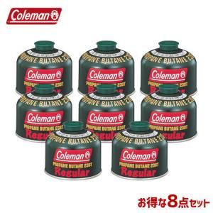 Coleman コールマン 8本セット ガスカートリッジ 純正LPガス燃料 230g 5103A23...