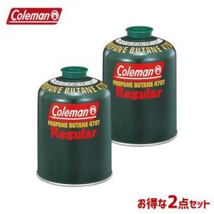 純正LPガス燃料 【2本セット】 コールマン Coleman 純正LPガス燃料 470g 5103A470T|whatnot