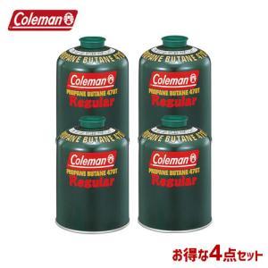 Coleman(コールマン) 純正LPガス燃料 【4本セット】  純正LPガス燃料 470g 5103A470T   BBQ アウトドア フィッシング|whatnot