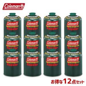 Coleman コールマン 12本セット ガスカートリッジ 純正LPガス燃料 470g 5103A4...