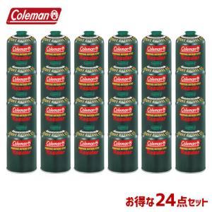 Coleman コールマン 24本セット ガスカートリッジ 純正LPガス燃料 470g 5103A4...