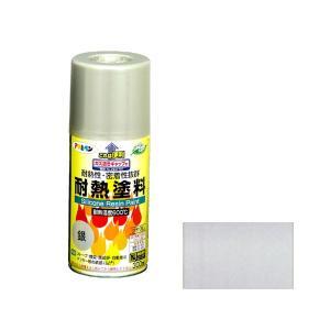 耐熱塗料スプレー 300mL (銀) [astk]
