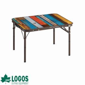 LOGOS ロゴス グランベーシック 丸洗いスリムサイドテーブル 7060 [astk][on]