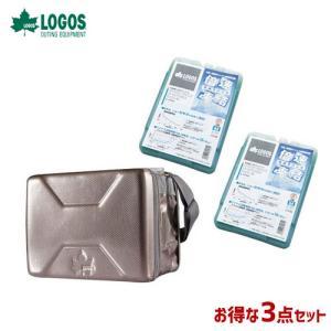 LOGOS ロゴス 3点セット クーラーバッグ ハイパー氷点下クーラー M 倍速凍結 氷点下パックM 81670070×1 81660642×2 R167N001 [astk][on] WHATNOT