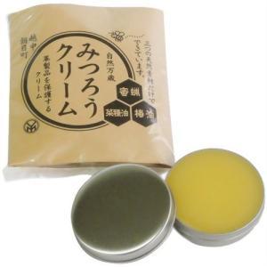 ●蜜蝋と椿油・富山県産菜種油をブレンドして革製品用みつろうクリームを製造販売しております。 ●革製品...