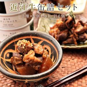 近江牛 缶詰セット 6個 加工品 保存食 高級缶詰 牛肉 敬老の日 グルメ 敬老