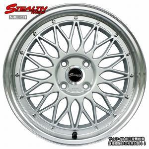 STEALTH Racing ME01 16x5.5J 軽四用/人気のメッシュ Hankook 165/40R16 タイヤ付4本セット|wheel-station