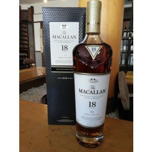 ザ・マッカラン18年 700ml  箱入り  正規輸入品|whiskey