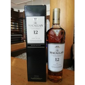 ザ・マッカラン 12年 シェリーオーク 700ml 箱入り 正規品|whiskey
