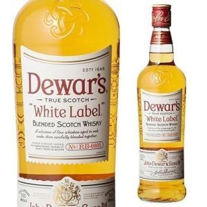 ウイスキー デュワーズ ホワイトラベル 正規品 40度 70...