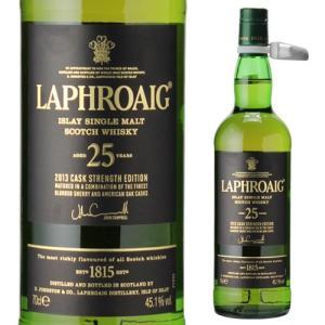 ウイスキー 送料無料 ラフロイグ 25年 カスクストレングス(2014エディション) 700ml ウ...