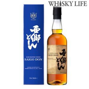 4月下旬入荷予定 マルスウイスキー 西郷どん 700ml 本坊酒造 ジャパニーズ ブレンデッド ウィスキー whisky 長S