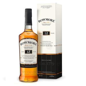 700ml 40度 箱付き   ボウモアはスコットランドの西にあるアイラ島の中部にあり、入り江状にな...