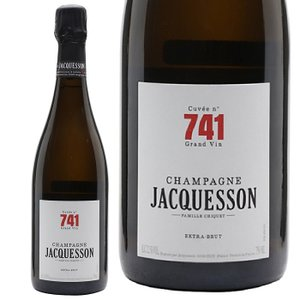 シャンパン ジャクソン キュヴェ 741  750ml 12.1度 フランス