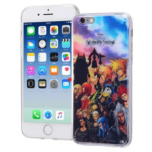 iPhone 6 6s キングダムハーツ ケース tpu 背...