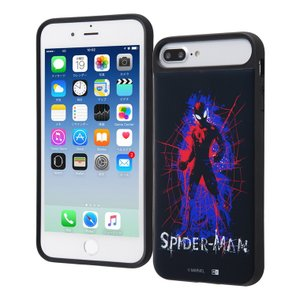 iPhone 8 Plus / iPhone 7 Plus / 6 Plus / 6s Plus ケース スパイダーマン MARVEL 耐衝撃ケース キャトル パネル 『スパイダーマン1』 white-bang