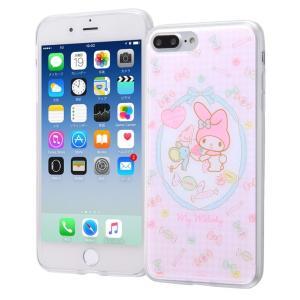 iPhone 8 Plus / 7 Plus ケース マイメロディ サンリオ TPUケース + 背面パネル / マイメロディ3 マイメロ white-bang
