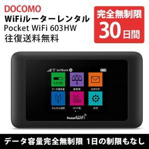Wifi レンタル 30日 無制限 Docomo wifiレンタル レンタルwifi wifiモバイ...