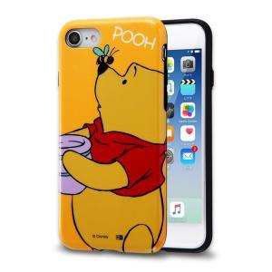 P5倍 23:59まで iPhone8 iPhone7 ケース プーさん キャラクター TPUソフトケース Colorap くまのプーさん ディズニー カバー disney_y white-bang