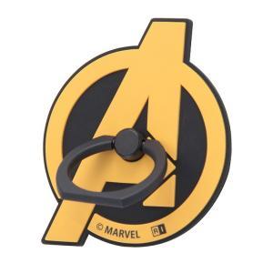 スマホリング キャラクター アベンジャーズ インフィニティ・ウォー スマホ リング ダイカット インフィニティ ロゴ リング型ストラップ|white-bang