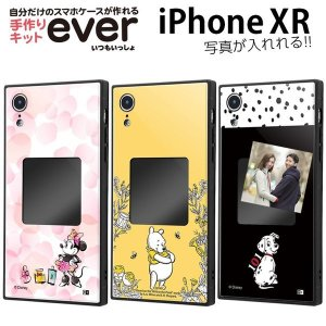 iPhone XR ケース ディズニー キャラクター スマホケースフレームキット ever ミニー ...